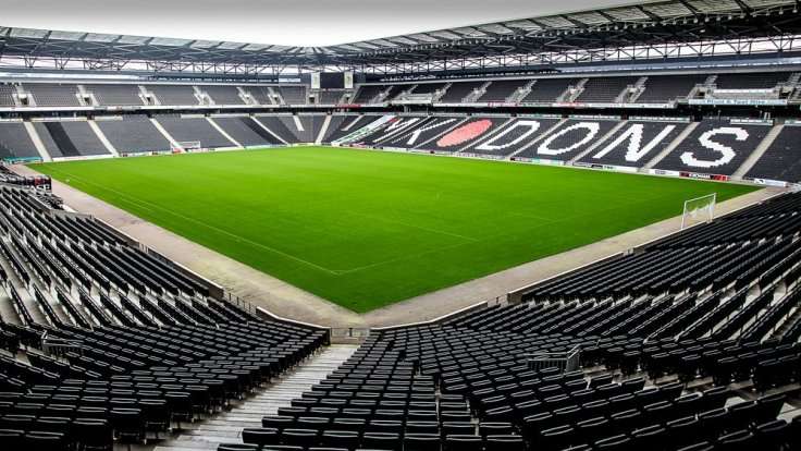 The inside of Stadium:MK