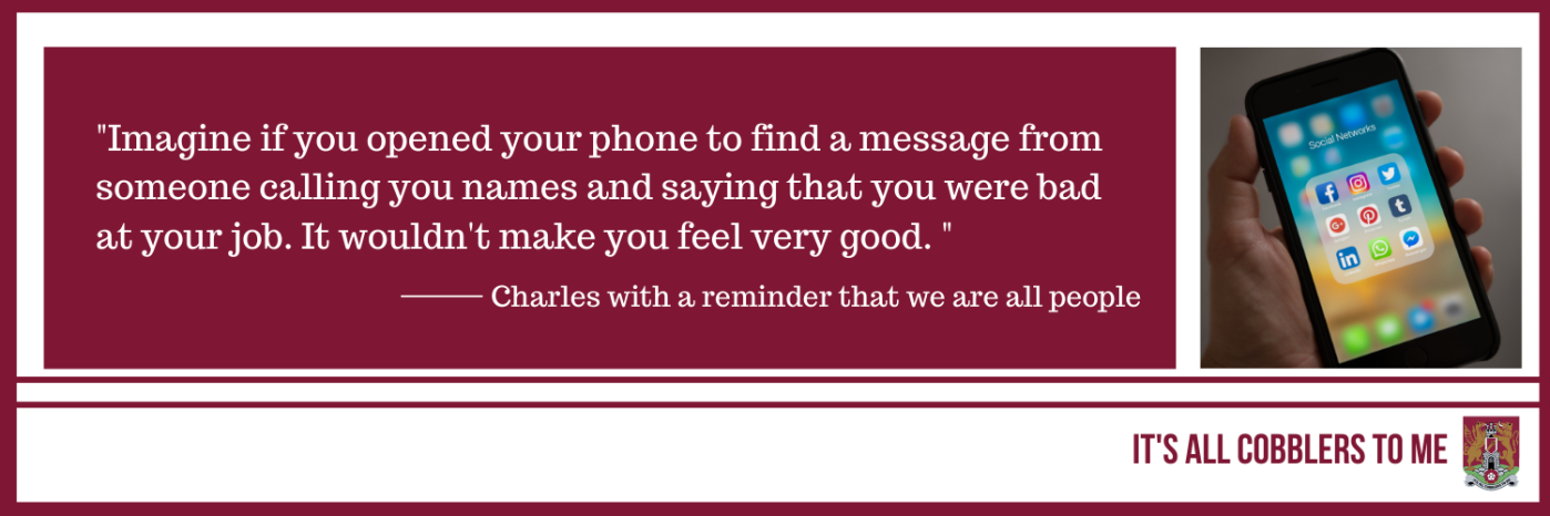 text to the left of a picture of a mobile phone showing several social media apps